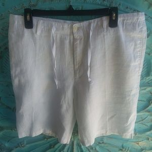 Perry Ellis Shorts - 😁NWT PERRY ELLIS Linen Shorts